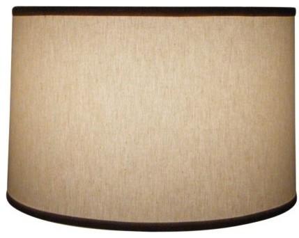 natural linen 16 drum floor lamp shade craftsman lamp shades by. Black Bedroom Furniture Sets. Home Design Ideas