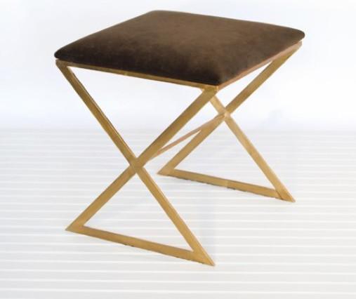 upholstered ottoman stool 1