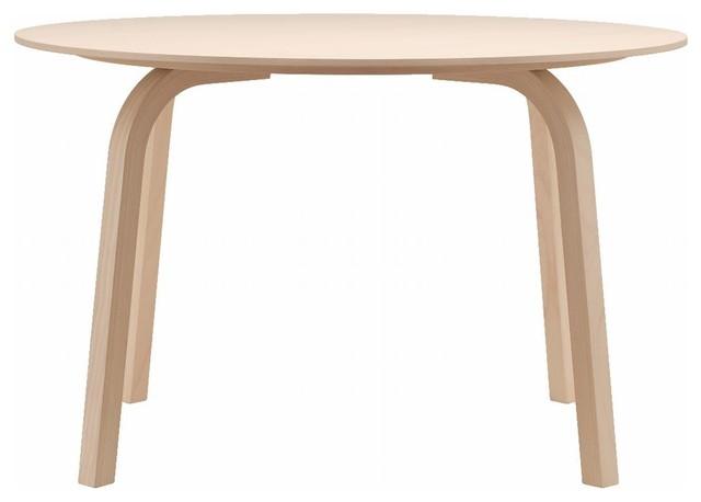 thonet 1404 esstisch rund 80cm moderno mesas de. Black Bedroom Furniture Sets. Home Design Ideas