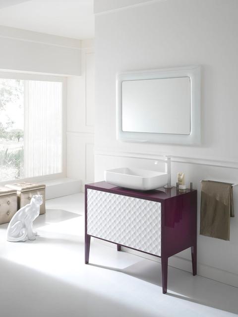 Italian bathroom furniture nea italia classico - Consolle bagno classico ...