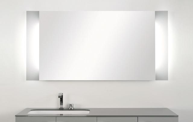 Aurora Led Bathroom Lighting Bathroom Venting Picture On Antonio Lupi Back Lit Mirrors Modern Bathroom Mirrors