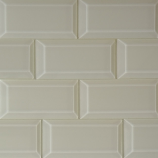 beveled beige glass subway mosaic tile modern mosaic tile by