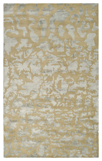 Gold and Silver Modern Rug from Safavieh - Contemporary - Rugs - by Inside Avenue