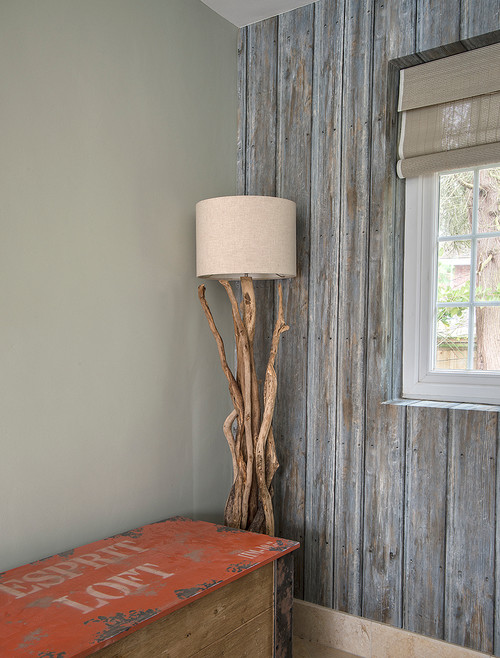 Andrew Martin Driftwood Wallpaper & Handmade Driftwood Lighting