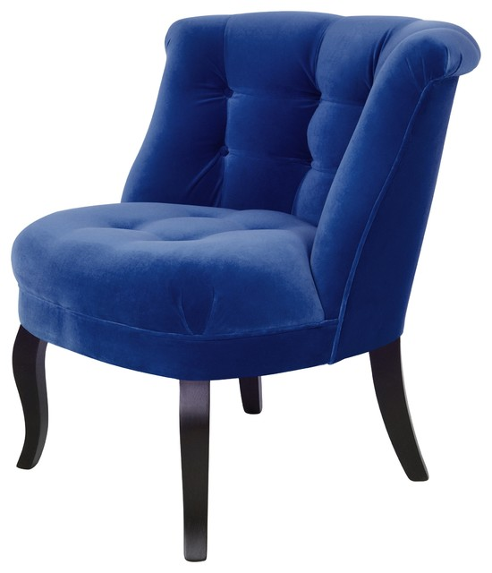 Velvet Tub Chair Traditional Armchairs And Accent