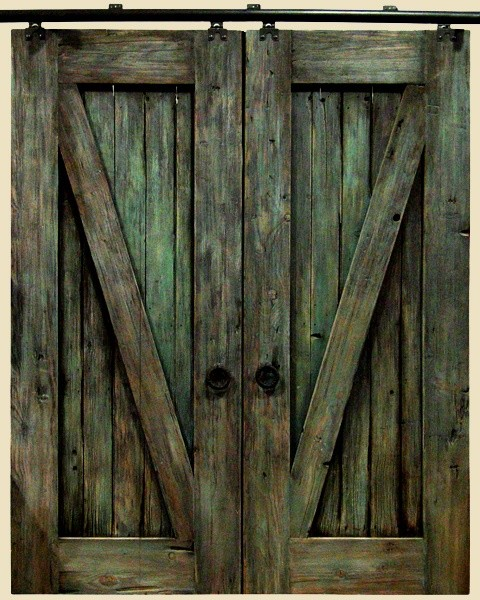Rustic barn door hardware for Rustic hardware barn doors
