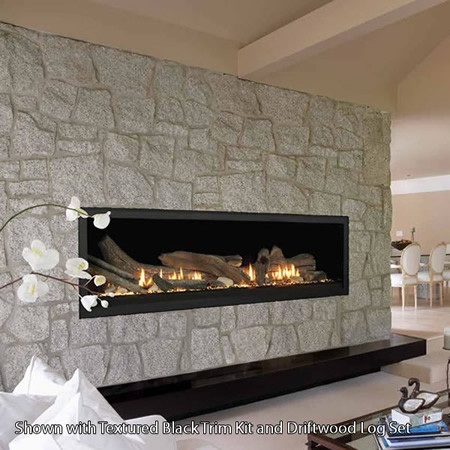Monessen Aura 70 Linear Direct Vent Fireplace Transitional Indoor Fireplaces Detroit By