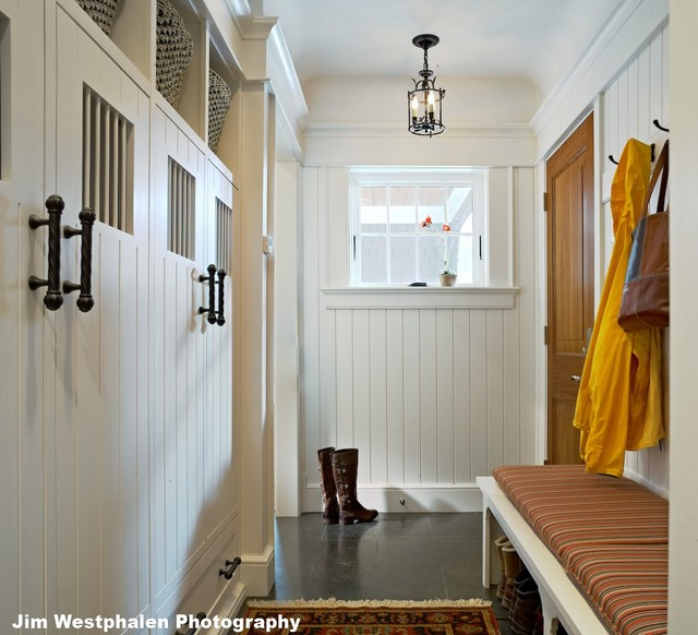 Shingle Style - Traditional - Entry - burlington - by ...