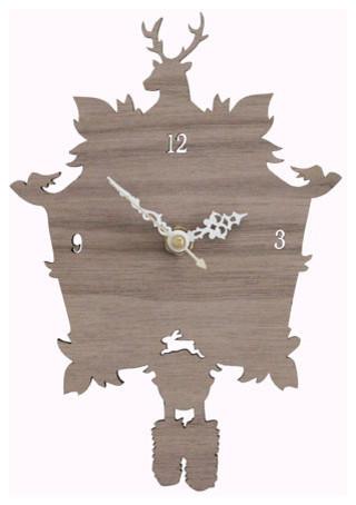 Modern Cuckoo Clock By Iluxo On Etsy Eclectic Cuckoo