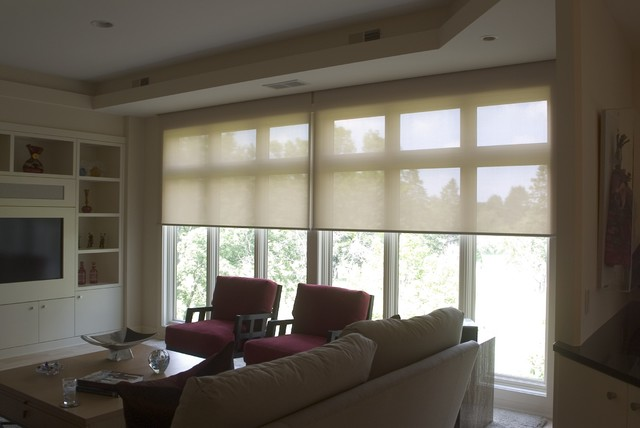 sliding door roller shades 2