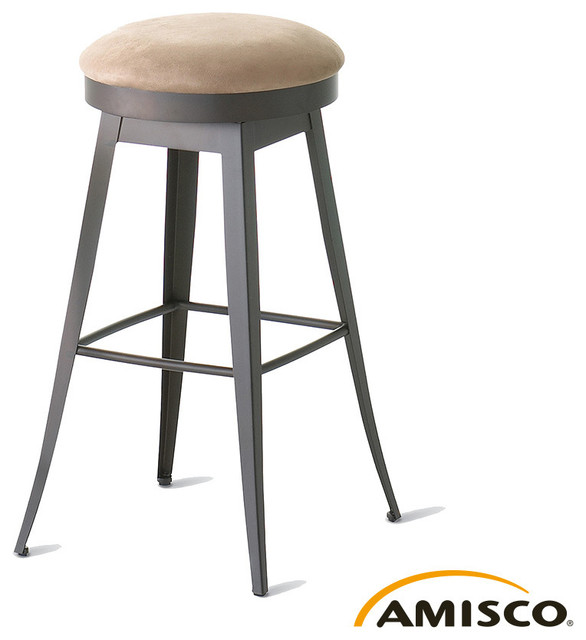 Amisco Grace Swivel Stool Modern Bar Stools And