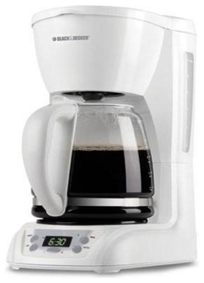 Modern Glass Coffee Maker : Black Decker 12-Cup Programmable Coffee Maker Glass Crf White - Modern - Coffee Makers - by ...