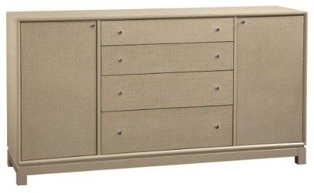 Latitude buffet taupe contemporary buffets and for Sideboard taupe