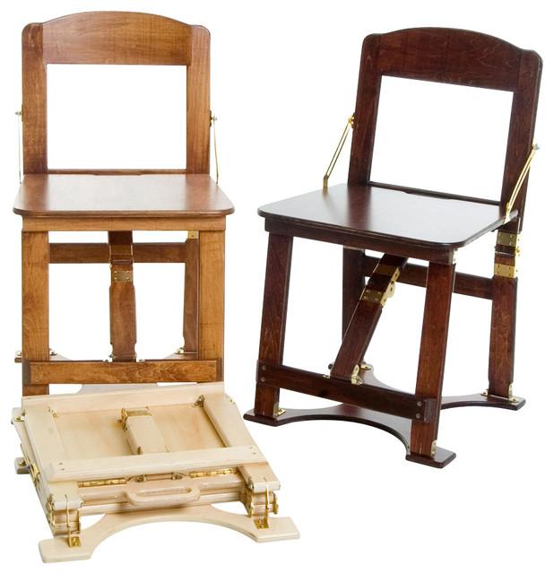 oak wood folding chairs 2
