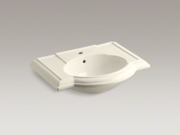 KOHLER Devonshire R Bathroom Sink With Single Faucet Hole Contemporary B