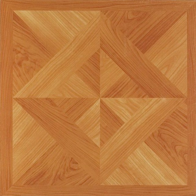12x12 light oak diamond parquet self adhesive vinyl floor tiles pack of 20 - Parquet vinyl castorama ...