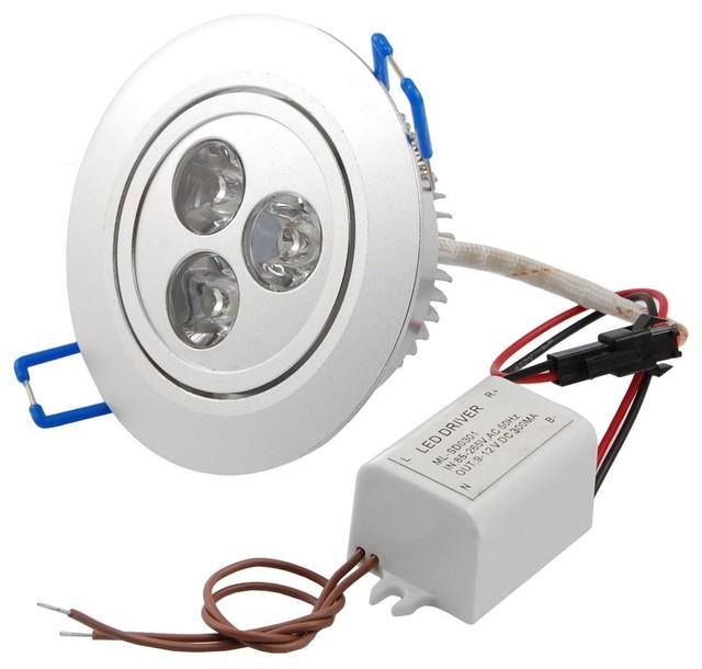 Takbelysning Kok Led : takbelysning kok led  White Round LED Ceiling Recessed Lamp