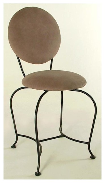 Vanity Swivel Stool Contemporary Vanity Stools And Benches By Shopladder