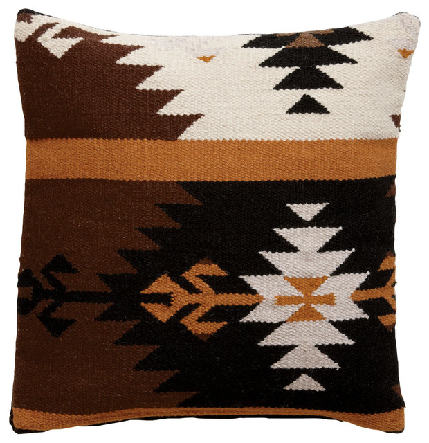 Southwestern Wool Pillow traditional-decorative-pillows