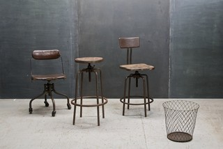 Heavy-Duty Vintage Industrial Stools - Eclectic - Bar Stools And Counter Stools - dc metro - by ...