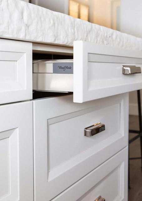 Clean White Cabinets Transitional Kitchen Houston By Cabinets Designs