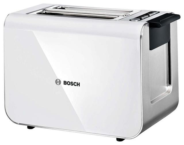 bosch styline sensor toaster tat8611gb white modern. Black Bedroom Furniture Sets. Home Design Ideas