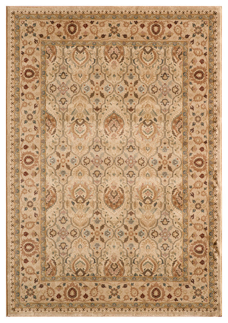 Momeni belmont 2 39 3 x7 39 6 runner rug in ivory traditional Belmont carpets and wood flooring