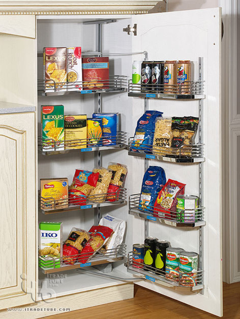 Food storage ideas no pantry for Food storage ideas for small kitchen