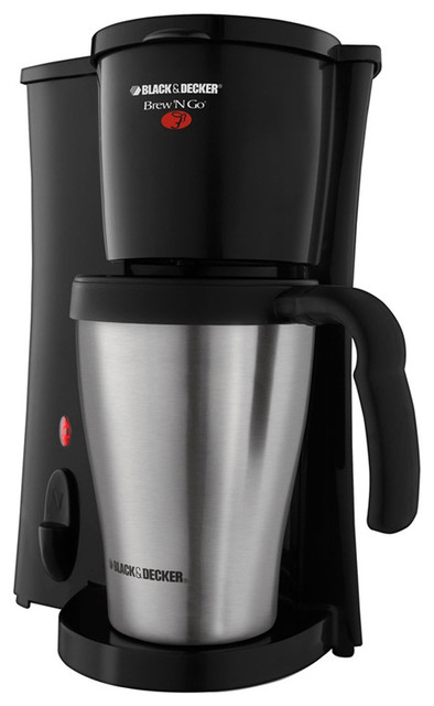 Black And Decker Coffee Maker Brew N Go : Black & Decker Brew N Go Coffee Maker - Contemporary - Coffee Makers - by Overstock.com