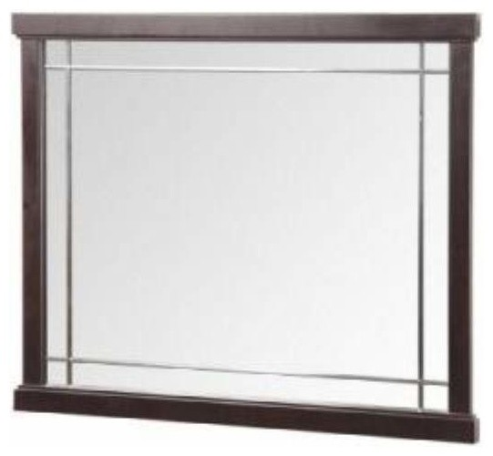Foremost Zen 24 Inch Mirror in Espresso Finish