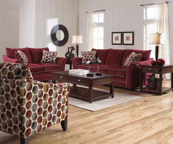 Jackson Furniture Horizon Poppy 3 Piece Living Room Set