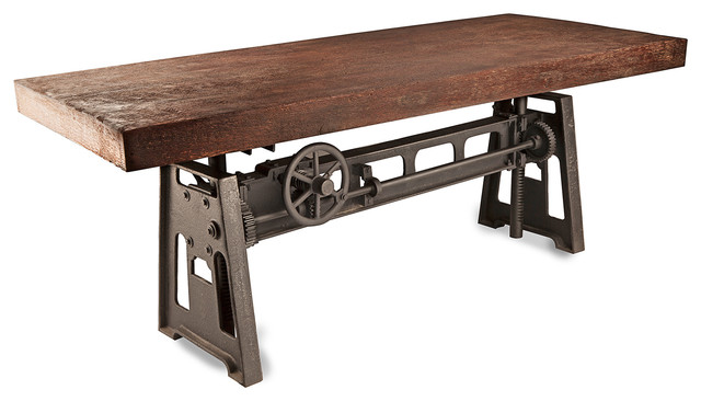 rustic metal dining table 28 images metal and wood  : transitional dining tables from bighomes.ca size 640 x 366 jpeg 48kB