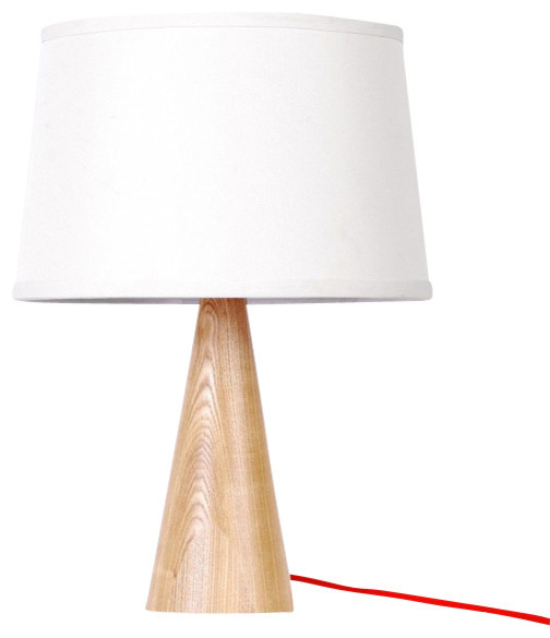 wooden table lamp white small contemporary table lamps. Black Bedroom Furniture Sets. Home Design Ideas