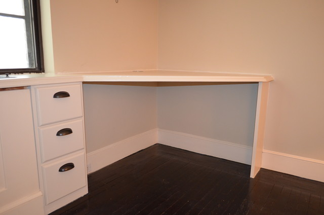 Custom Corner Desk - Traditional - Desks And Hutches - new york - by Ecostruct LLC