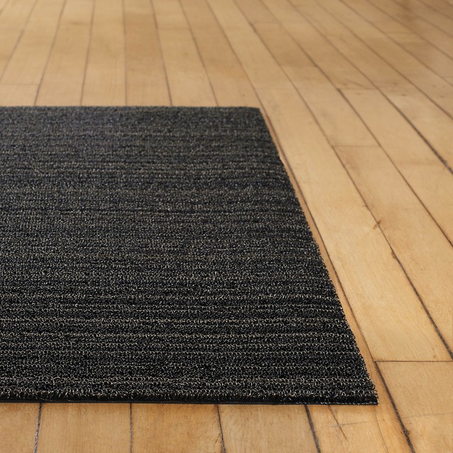 Bloombety Houzz Bathrooms With Floor Mat Houzz Bathrooms: Chilewich Shag Large Mat