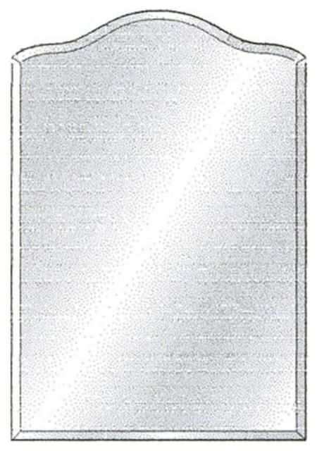 Radiance arch top tilt mirror size 20 x 30 24 x 35 16 x for Mirror 20 x 30