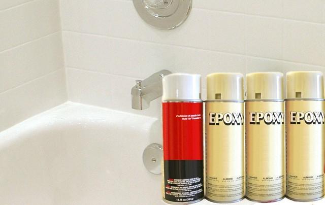 spray on bathtub refinishing paint kit bath products other metro. Black Bedroom Furniture Sets. Home Design Ideas