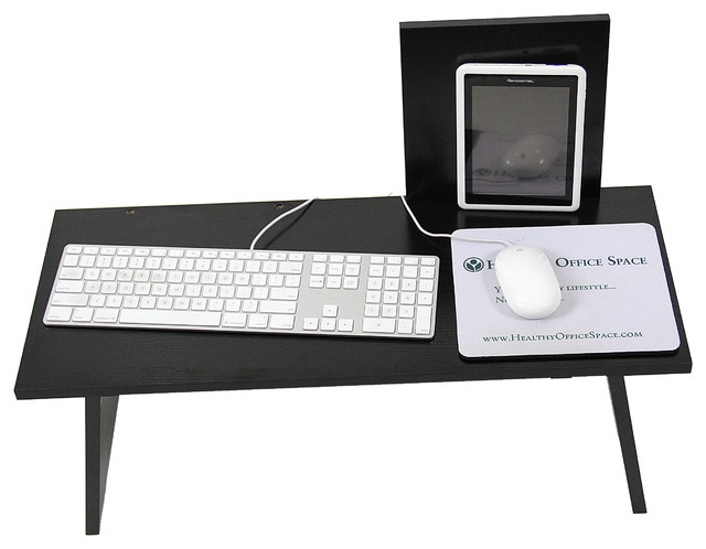 Transition Workstation, sit/stand work desk. - Modern - Chicago - by Healthy Office Space