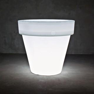 vas two leuchte blumentopf l bauhaus look au enleuchten von. Black Bedroom Furniture Sets. Home Design Ideas