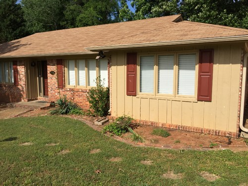 70s brick ranch exterior revival please help for 70s house exterior makeover
