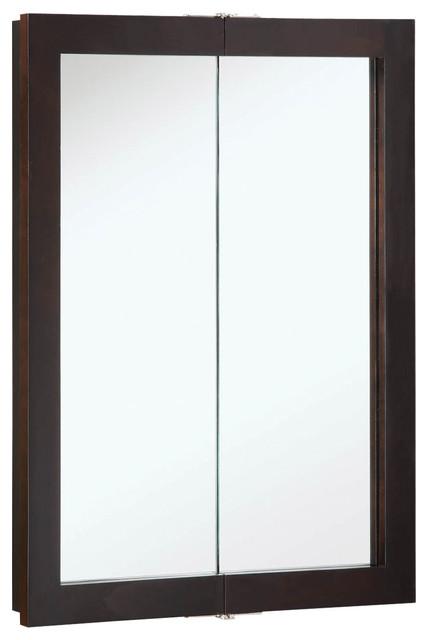"""Ventura 24""""x30"""" Medicine Cabinet Bi- Espresso Finish - Transitional - Medicine Cabinets - by ..."""