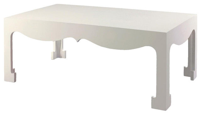 Bungalow 5 jordan coffee table in white eclectic Eclectic coffee table makeovers
