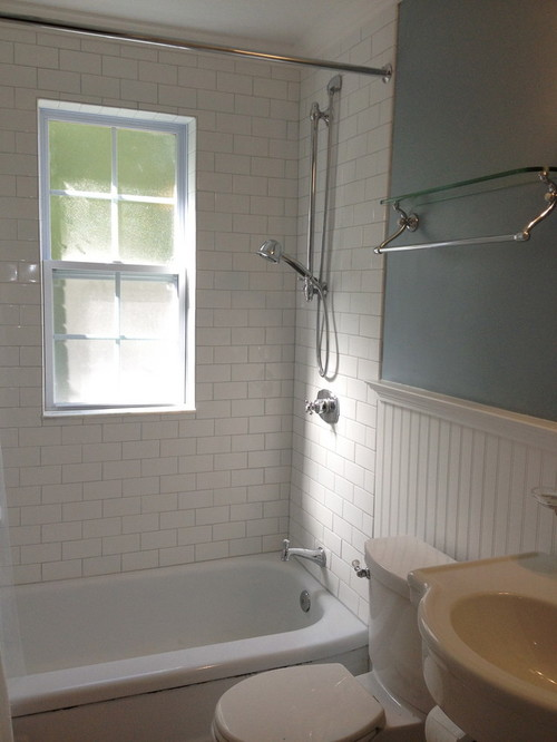 Window Over Bathtub And In Shower
