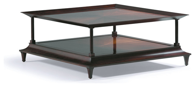 madras square coffee table baker furniture