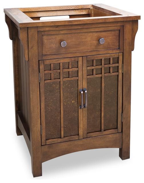 """26-1/2"""" Wide Solid Wood Vanity VAN037 - Bathroom Vanities ..."""