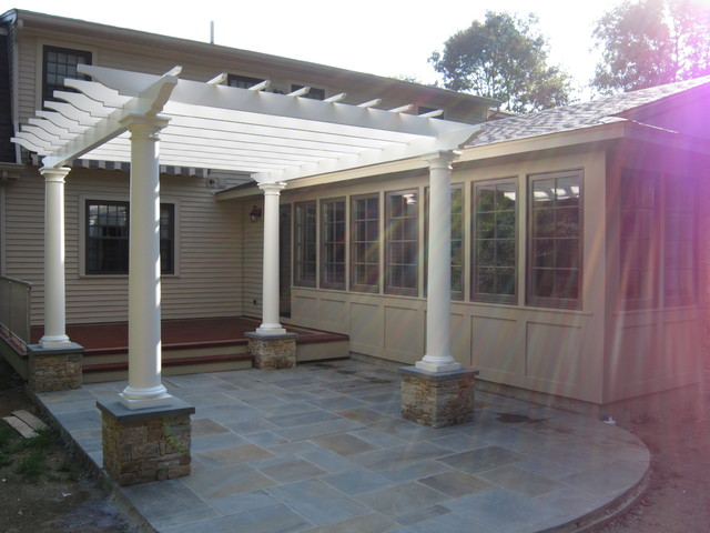 Great Room Addition And Outdoor Living Area Completed And