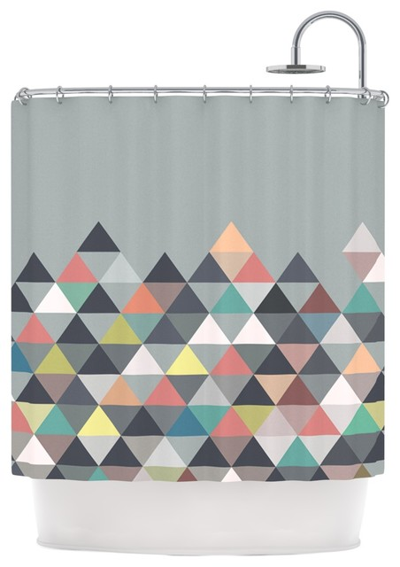 nordic combination abstract shower curtain by mareike. Black Bedroom Furniture Sets. Home Design Ideas