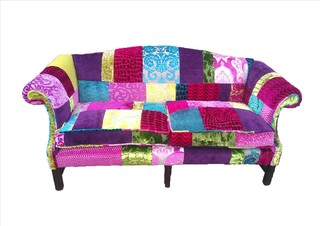Patchwork Sofa Designers Guild Fabric Eclectic Sofas