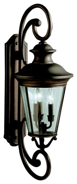 Kichler Eau Claire Traditional Outdoor Wall Sconce X