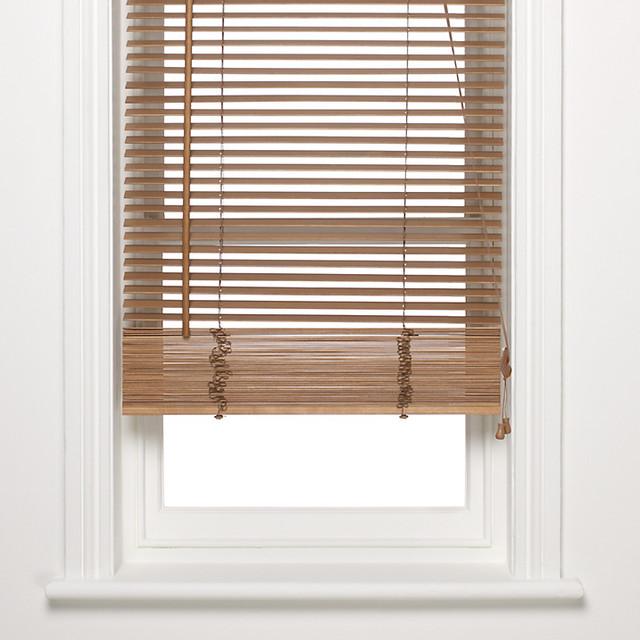 FSC Wooden Venetian Blind, 25mm, Oak